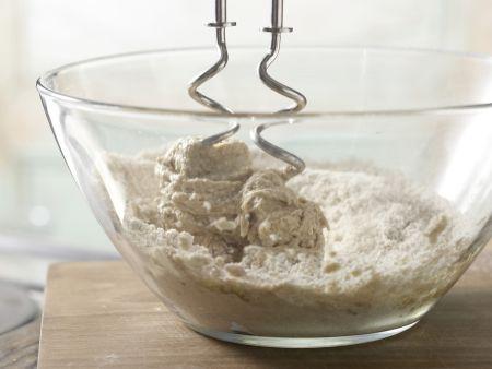 Bärlauchfladen vom Blech: Zubereitungsschritt 2