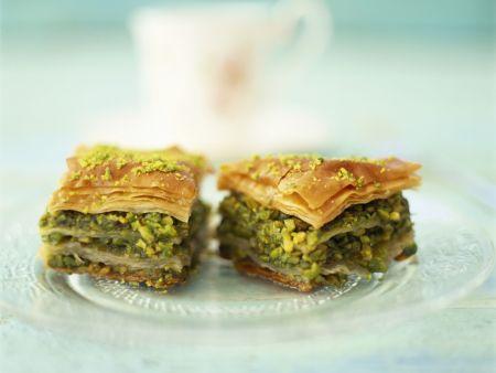 Rezept: Baklava mit Pistazien