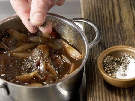Balsamico-Dattel-Sauce: Zubereitungsschritt 4