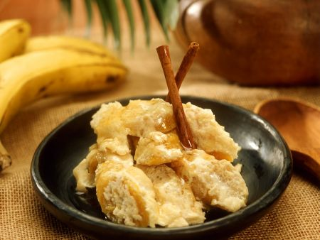 Banane mit Cremefüllung