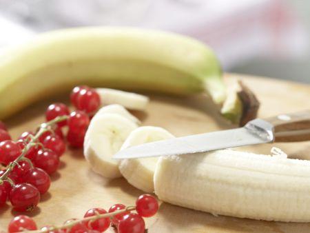 Bananen-Beeren-Smoothie: Zubereitungsschritt 2