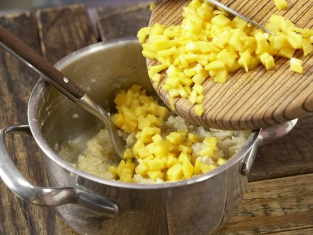 Bananen-Mandel-Brei mit Bulgur: Zubereitungsschritt 5