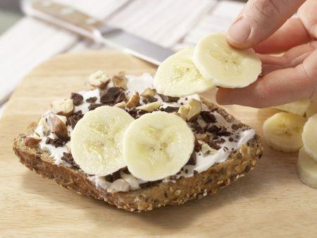 Bananenbrötchen: Zubereitungsschritt 2