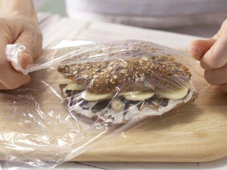 Bananenbrötchen: Zubereitungsschritt 3
