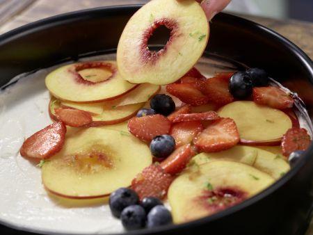Beeren-Nektarinen-Torte: Zubereitungsschritt 6