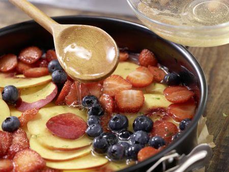 Beeren-Nektarinen-Torte: Zubereitungsschritt 8