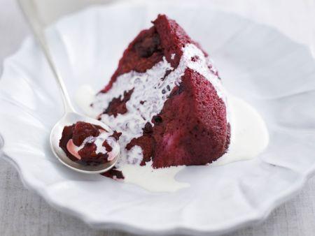 Beeren-Pudding nach englischer Art