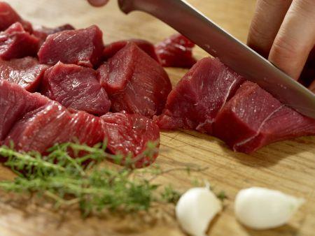 Belgischer Rindfleischtopf: Zubereitungsschritt 1