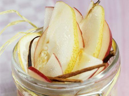 Birnen-Apfel-Kompott