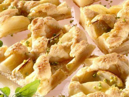 Birnen-Apfelkuchen