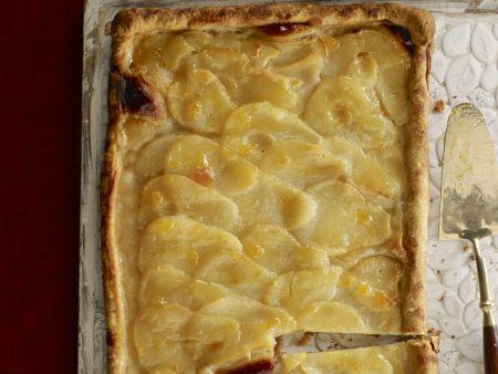 Birnen-Blechkuchen