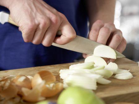 Birnen, Bohnen und Kassler – smarter: Zubereitungsschritt 1