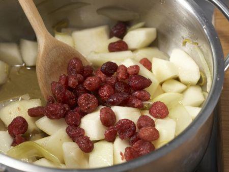 Birnen-Cranberry-Chutney: Zubereitungsschritt 6