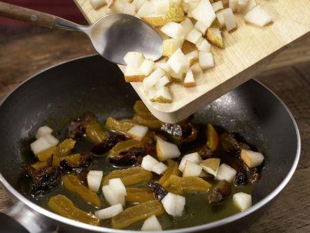 Birnen-Fruchtsalat: Zubereitungsschritt 5