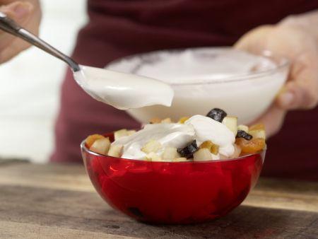 Birnen-Fruchtsalat: Zubereitungsschritt 6