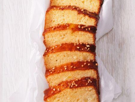 Birnen-Grießkuchen