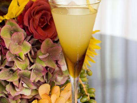 Birnen-Martini mit Ingwer