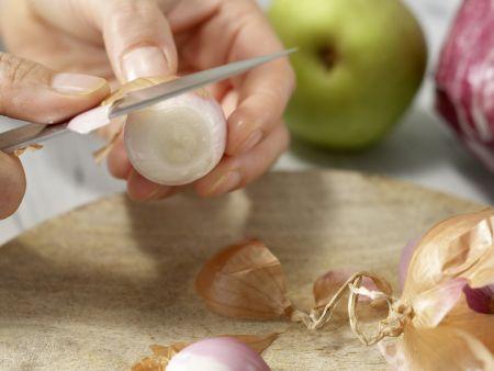 Birnen-Pasta: Zubereitungsschritt 1