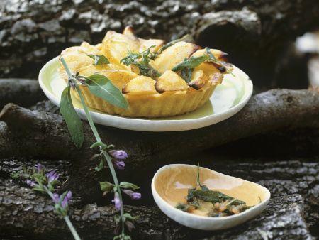 Rezept: Birnen-Salbei-Tarte