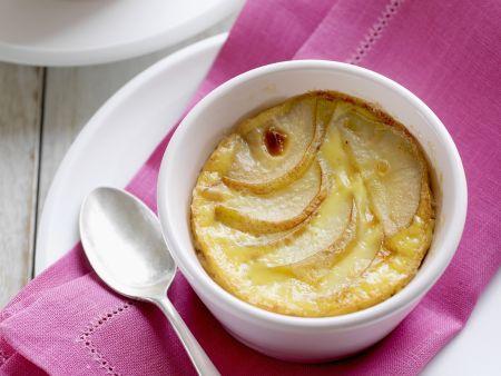 Rezept: Birnen-Vanille-Gratin