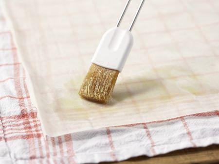Birnenstrudel mit Haselnüssen: Zubereitungsschritt 4