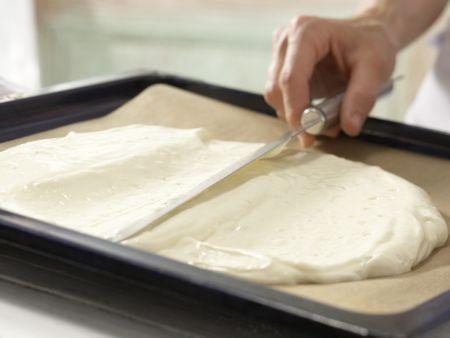 Biskuitteig mit Dinkelmehl: Zubereitungsschritt 6