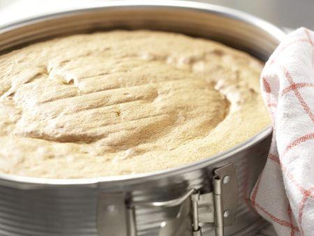 Biskuitteig mit Dinkelmehl: Zubereitungsschritt 8