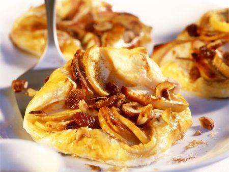 Rezept: Blätterteigtaschen mit Apfelfüllung