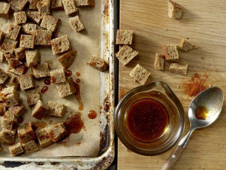 Blattsalat mit Hähnchenstreifen: Zubereitungsschritt 2