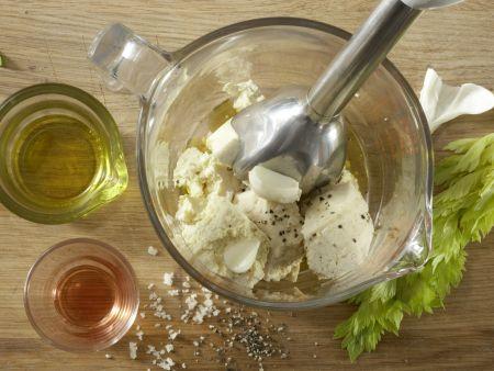 Blattsalat mit Hähnchenstreifen: Zubereitungsschritt 6