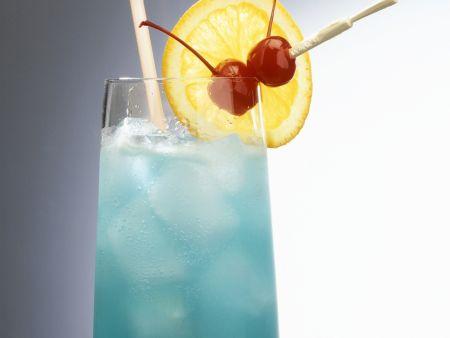 Blue Zorro Cocktail
