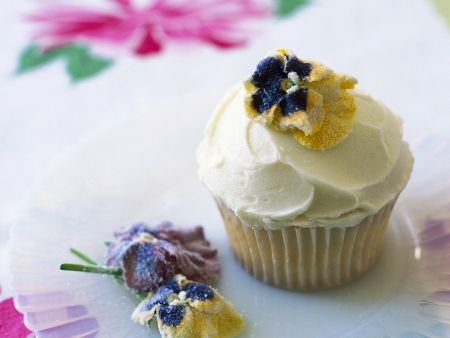 Blüten-Cupcake