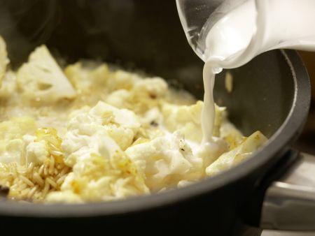 Blumenkohl-Reis-Pilaw: Zubereitungsschritt 6
