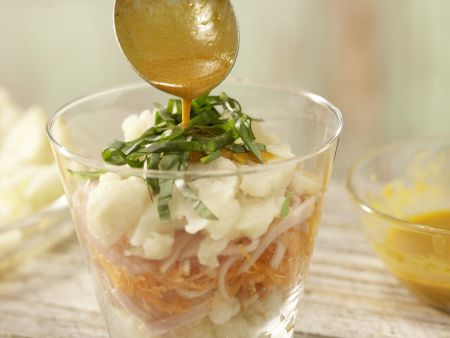 Blumenkohl-Schichtsalat: Zubereitungsschritt 8