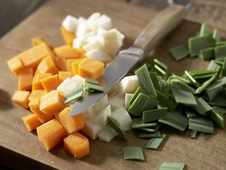 Bohnen-Bärlauch-Suppe: Zubereitungsschritt 3