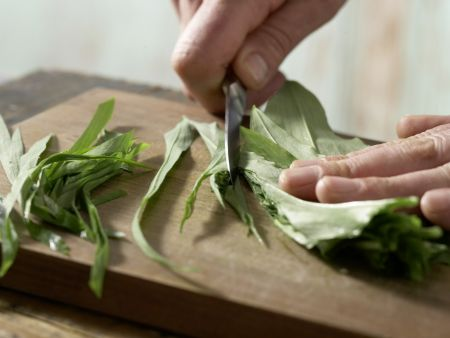 Bohnen-Bärlauch-Suppe: Zubereitungsschritt 4