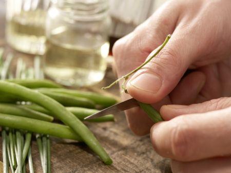 Bohnen-Birnen-Salat: Zubereitungsschritt 2
