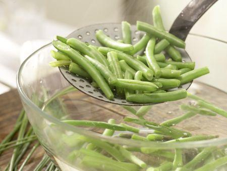 Bohnen-Birnen-Salat: Zubereitungsschritt 4