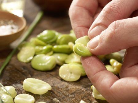 Bohnen-Birnen-Salat: Zubereitungsschritt 5