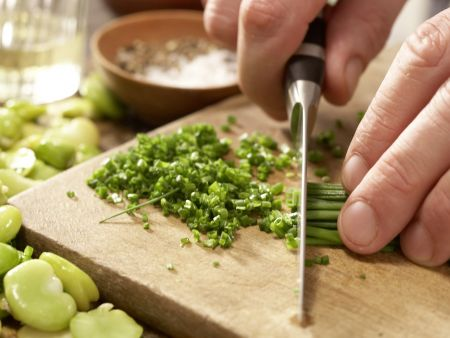 Bohnen-Birnen-Salat: Zubereitungsschritt 6