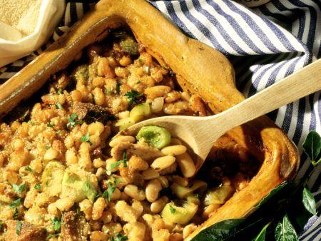 Bohnen-Casserole auf französische Art