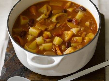 Rezept: Bohnen-Gemüse-Topf