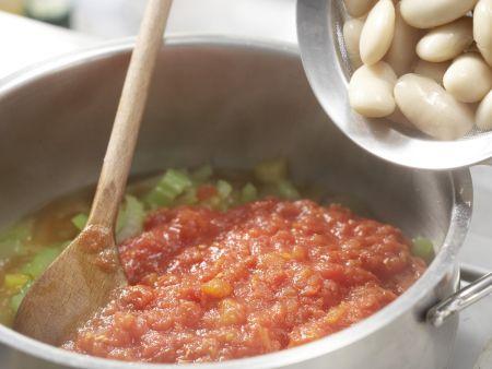 Bohnen-Paprika-Chili: Zubereitungsschritt 5