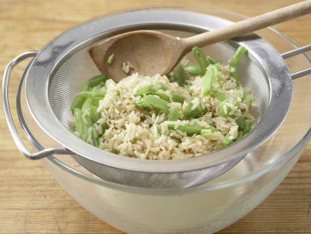 Bohnen-Reis-Salat: Zubereitungsschritt 3