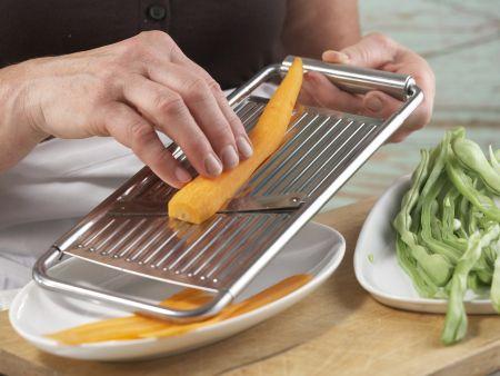 Bohnengemüse mit Schnitzel: Zubereitungsschritt 4