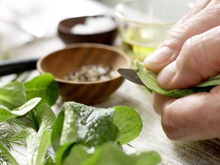 Bornholmer Feldsalat: Zubereitungsschritt 4