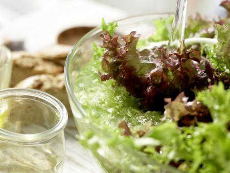 Brasserie-Salat: Zubereitungsschritt 1