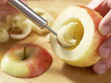 Bratapfel mit Dinkelfüllung: Zubereitungsschritt 3