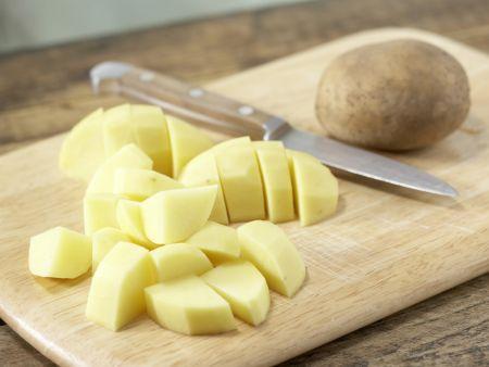 Braten mit Paprika-Kartoffeln: Zubereitungsschritt 9