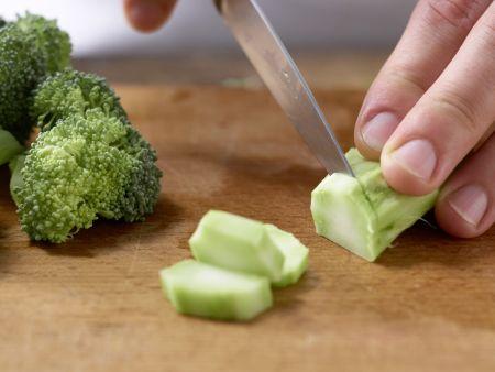 Brokkoli-Lauch-Gemüse: Zubereitungsschritt 2